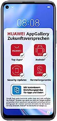 Huawei 华为 P40 lite 5G 双卡双待智能手机(16.51cm/6.5英寸),128GB ROM,6GB RAM,Android 10.0 AOSP,无Google Play商店,EMUI 10.1.1),