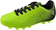 Vizari Stealth FG Green/Black Size 5.5 Soccer-Shoes