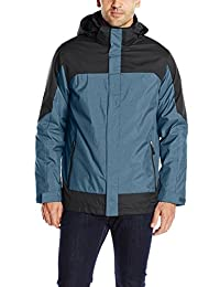 32Degrees Weatherproof Men's 3-In-1 Systems Color-Block Jacket