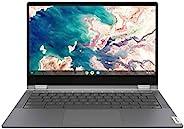 Lenovo 联想 Chromebook Flex 5 13英寸(约33.02厘米)笔记本电脑,FHD(1920 x 1080)触摸屏,Intel Core i3-10110U处理器,4GB DDR4板载RAM,64GB