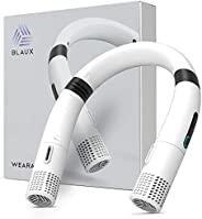 Blaux 可穿戴 USB 可充电颈挂免提空调,1.9 CFM 空气循环 3 速可穿戴风扇
