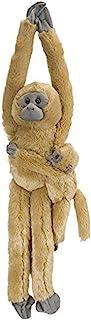 "Wild Republic Douc Langur 婴儿毛绒玩具,猴子填充动物,毛绒玩具,送给孩子的礼物 Common Langurw/baby 20 ""英寸 悬挂"
