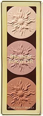 Physicians Formula Bronze Booster 黄油高光修容调色板,哑光雕刻调色板,0.3盎司(9克)