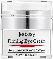 Jeosisy 男士修复眼霜 天然**眼霜 减少浮肿 黑眼圈 乌鸦脚和眼袋