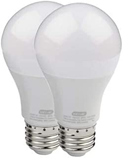Genie LED 车库门开门灯灯泡 - 60 瓦(800 流明) - *大限度地减少车库门开门器的干扰(兼容所有主要的车库门开门器品牌) LEDB1-R 2组 43239-194459