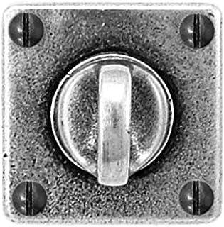 The Handmade Handle Company FD066-1 ' 青灰色方形拇指旋转/释放 50MM 宽拇指旋转
