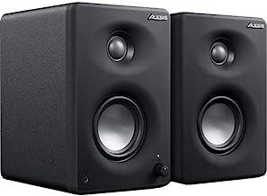Alesis M1A330USB 工作室監視器 專業 USB 桌面揚聲器系統(一對)帶 USB 音頻接口,3 英寸鋁揚聲器和低音音音音音響。