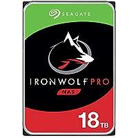 Seagate 希捷 IronWolf Pro 18 TB 硬盘,NAS 内部硬盘(8.9厘米(3.5英寸),7200…