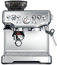 SAGE SES875 咖啡师专线系列 意式蒸馏咖啡机 带压力计,15Bar,拉丝不锈钢