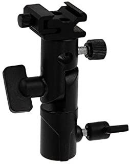 Fotodiox Elite 闪光伞架 - 旋转/倾斜头,可安装至灯架和三脚架,适用于 Vivitar Flash