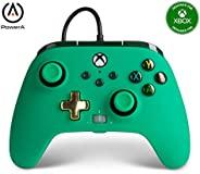 PowerA 增强型有线控制器 适用于 Xbox 系列 X|S - *,游戏手柄,有线视频游戏控制器,游戏控制器,适用于 Xbox One - Xbox Series X
