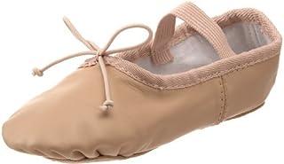 Dance Class 中性-儿童 Leather Ballet 皮革芭蕾舞鞋- K