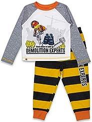 LEGO 经典幼儿睡衣,2 件套睡衣,长袖,长裤,幼儿 2T 到 4T