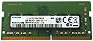 三星 8GB DDR4 PC4-21300, 2666MHZ, 260 PIN SODIMM, 1.2V, CL 19 笔记本电脑 RAM 内存模块