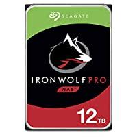 Seagate IronWolf NAS 内置硬盘ST12000NEZ008/NE0008  IronWolf Pro w/ Data Recovery 12TB