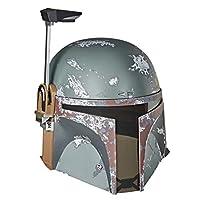 Star Wars 星球大戰 黑色系列Boba Fett帝國反擊高級電子頭盔,角色扮演