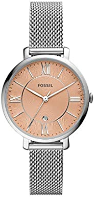 Fossil Jacqueline 三指针不锈钢网眼手表 ES5089
