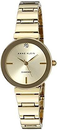 Anne Klein 礼服手表(型号:AK / 2434CHGB)