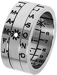 Retroworks Sundial 戒指银色表面 银色 Size 06 SundialSilver06