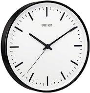 SEIKO 精工 时钟 挂钟 黑色 电波 直径310×44毫米 模拟 KX308K