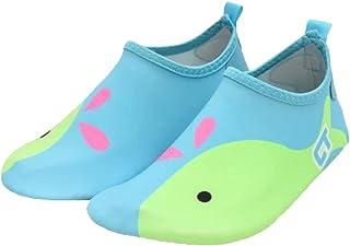 WARDFYT 儿童沙滩涉水鞋防滑水皮赤脚运动鞋水袜适用于海滩户外运动