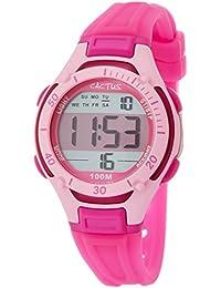 CACTUS 兒童手表 數字 10氣壓防水 CAC-82-M55 女孩 【正規進口商品】