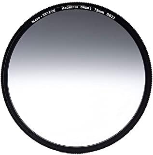 Kase Skyeye 72 毫米软级 0.9 磁性 MC 光学玻璃过滤器包括适配器 72 3 停止