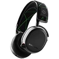 SteelSeries 赛睿 Arctis 9X无线游戏耳机 – 集成Xbox无线+蓝牙 – 20小时以上电池寿命 – 适用于 Xbox One 单面 Wireless 黑色