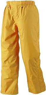 城市 辉 裤子 共5种颜色 共5种尺寸 雨裤 防水 双层 黄色 Medium #8100
