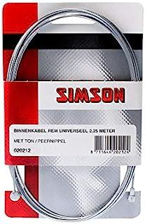 SIMSON 自行车配件 刹车 内部电缆 通用2.25mtr 020212