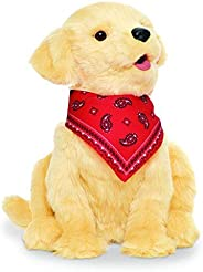JOY FOR ALL Ageless Innovation 伴侣宠物,金色幼犬,栩栩如生,逼真,棕色,9.016英寸(约22.90厘米)