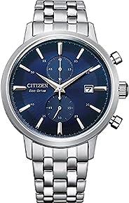 Citizen 西铁城 男式计时光动能手表不锈钢表带 CA7060-88L