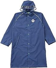 Converse 匡威 Ogawa 小川 儿童雨衣 130厘米 CONVERSE 匡威藏青色 纯色 附带反光条 附带可调节褶皱 带收纳袋 20095