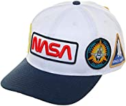 男式 NASA Patch Flatbill NASA 棒球帽