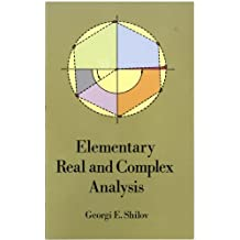 Elementary Real and Complex Analysis (Dover Books on Mathematics) (English Edition)