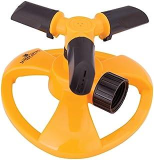Rocky Mountain Goods AquaSpin 360 儿童草坪洒水器 - 旋转洒水器覆盖面积高达 3,000 平方英尺 - 可调节臂角 - 适用于狗、草坪、庭院、花园、儿童的喷水器 - 高冲击设计