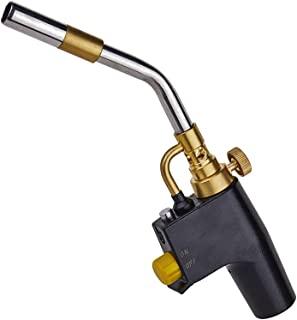 高强度触发启动火炬,便携式无氧焊接枪,与 MAPP/MAP Pro/丙烷一起使用,用于燃气焊接 / 剥离油漆 / 搜索牛排