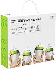 Comotomo 可么多么 婴儿奶瓶套装,绿色