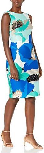 Calvin Klein 女式印花紧身连衣裙