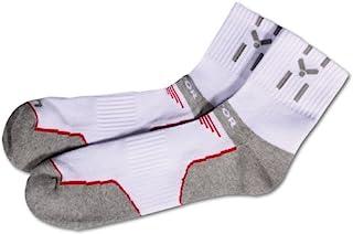 Victor Socks Sox United,白色/灰色/红色,纯色,765/0/0