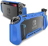 Mumba 可托放 Nintendo Switch 手机壳 TPU Grip 保护套 兼容 Nintendo Switch 游戏机和 Joy-Con 控制器