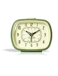 Kikkerland 復古鬧鐘,綠色