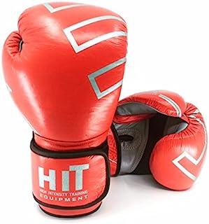 HIT PRO 系列包手套皮革红色 283.5 克是许多 UFC 战斗机和专业拳击冠军的官方赞助商(10)