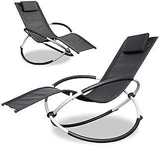 户外躺椅,全新零重力椅,可折叠户外躺椅,2 件装,2021 技术创新 - 躺椅和摇椅的组合