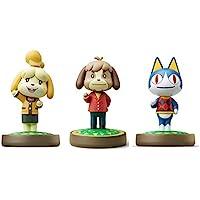 3 件装套装 [Digby/Rover / Isabelle Winter](动物十字游戏系列)适用于 Nintendo…