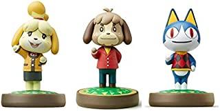 3 件装套装 [Digby/Rover / Isabelle Winter](动物十字游戏系列)适用于 Nintendo Switch - Switch Lite - WiiU - 3DS - (散装包装)...