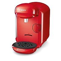 Bosch 博世 Tassimo Vivy2 膠囊咖啡機 TAS1403,容量大于70杯,全自動,適用于所有杯子,體積小巧,1300W,紅色