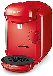 Bosch 博世 Tassimo Vivy2 胶囊咖啡机 TAS1403,容量大于70杯,全自动,适用于所有杯子,体积小巧,1300W,红色