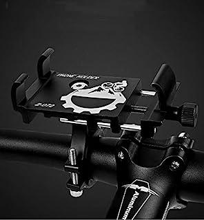 自行车摩托车手机支架可调节山地自行车导航手机支架适用于 iPhone、iPhone 7、iPhone 8、iPhone 8 Plus 和三星手机等。