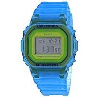 Casio 卡西欧 G-Shock DW5600LS-2 骨架系列蓝*金属表盘数字手表